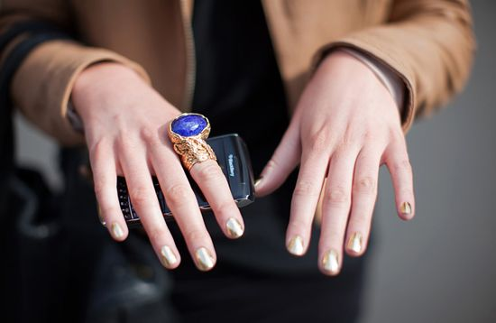 Trendy nail coulour #beauty