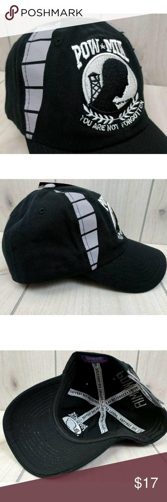 pow mia hat baseball cap adjustable nwt pow mia you are not forgotten hat adjustable - Pow Mia Hat