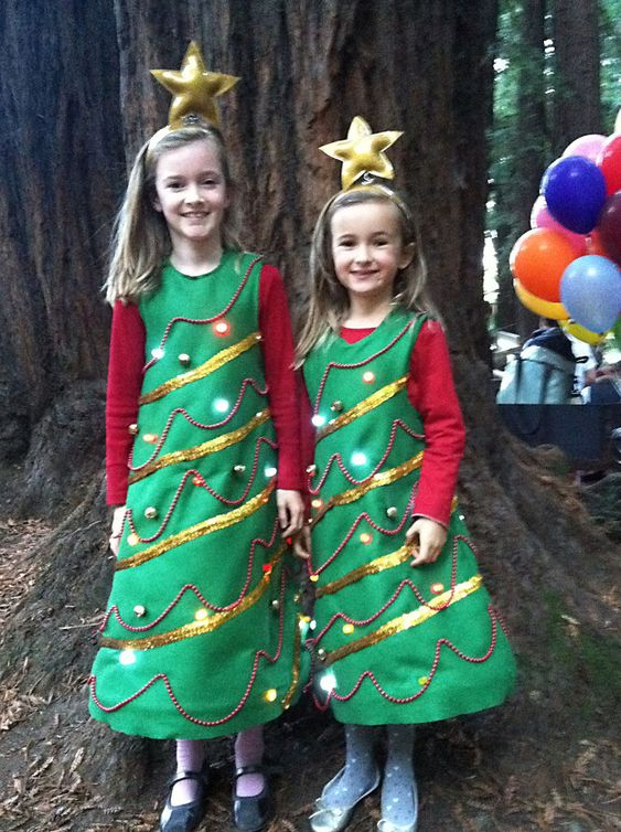 christmas bell costumes for kids | Oh Christmas Tree Terror-ific ...