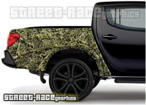 4x4 Off Road Truck Side Bed Tub Camouflage Wrap Offroad Trucks