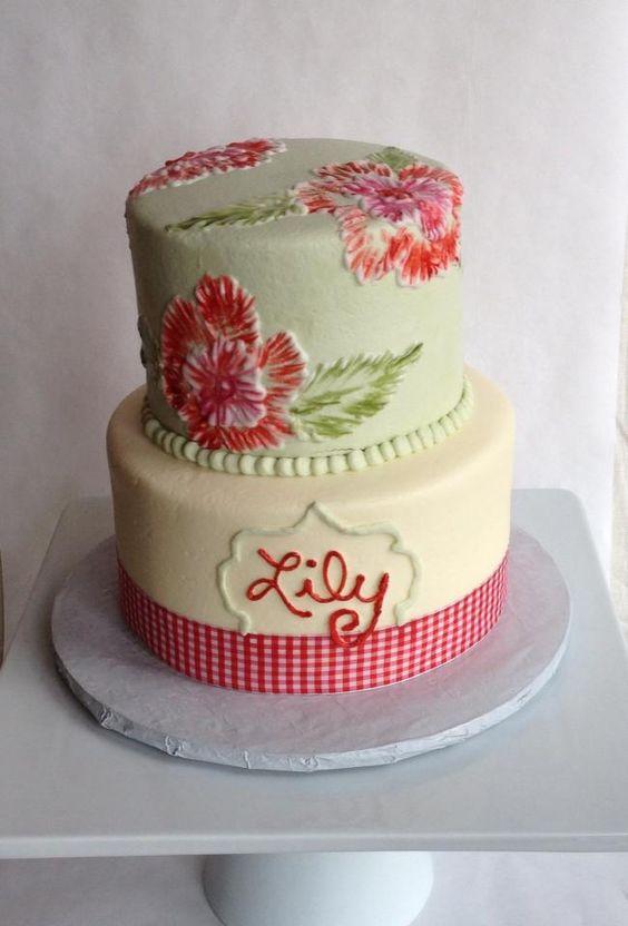 Vintage Cake by Lottie's Cookies in Texas!