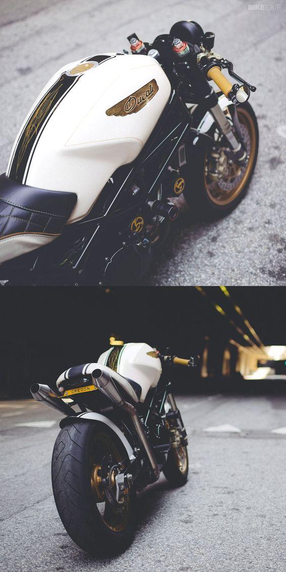 DUCATI MONSTER 750 BY MOTOLADY      http://www.bikeexif.com/ducati-monster-750