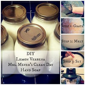 The Modern Girl's Guide: DIY Hand Soap {Love me some Mrs. Meyer's!}