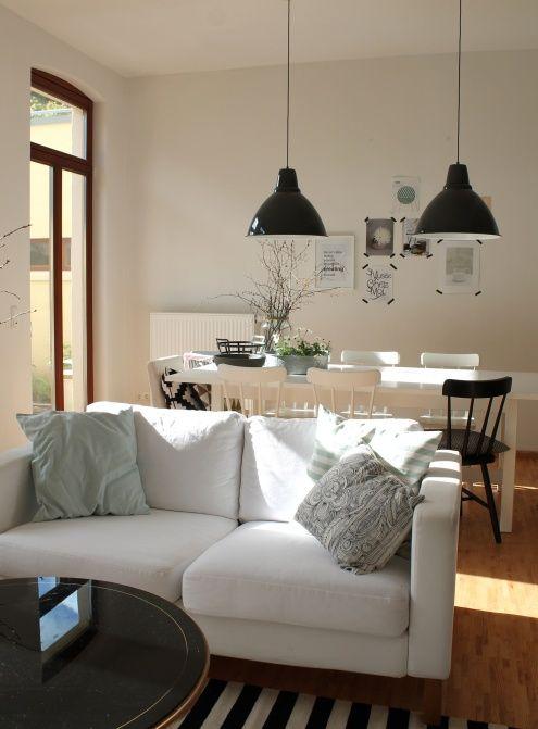 Willkommen im Winterwunderland (in deinem Wohnzimmer)! Ein weißes - wohnzimmer ideen altbau
