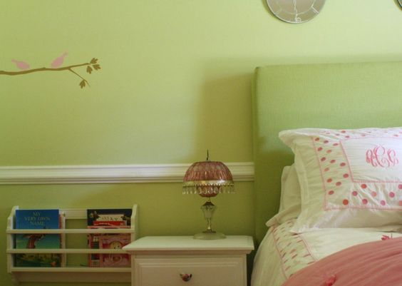 Green With Envy: Big Girls Room >> Benjamin More Pale Sea Mist