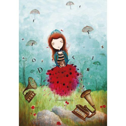 "Jehanne Weyman carte d'art  ""Enchanter l'univers"""