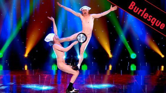 Les hommes à poêles - Burlesque / LE PLUS GRAND CABARET DU MONDE