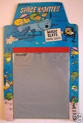 Space Kidettes Magic Slate: the iPad of c. 1967.