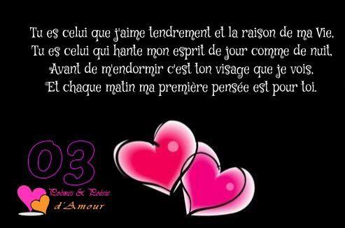Poèmes Damour En Images Citation Amour Courte Phrase