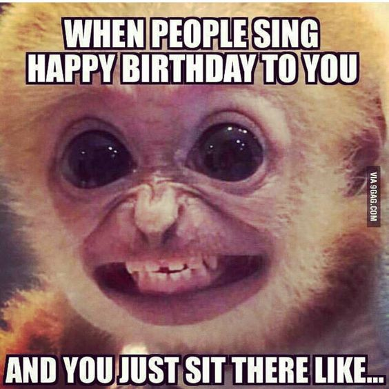 Had plenty of birthdays to know this look when I see one!!!!