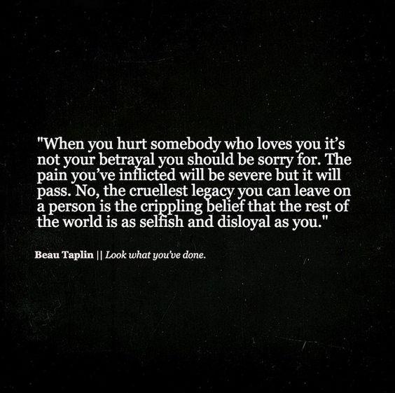 Betrayal Destroys Love?