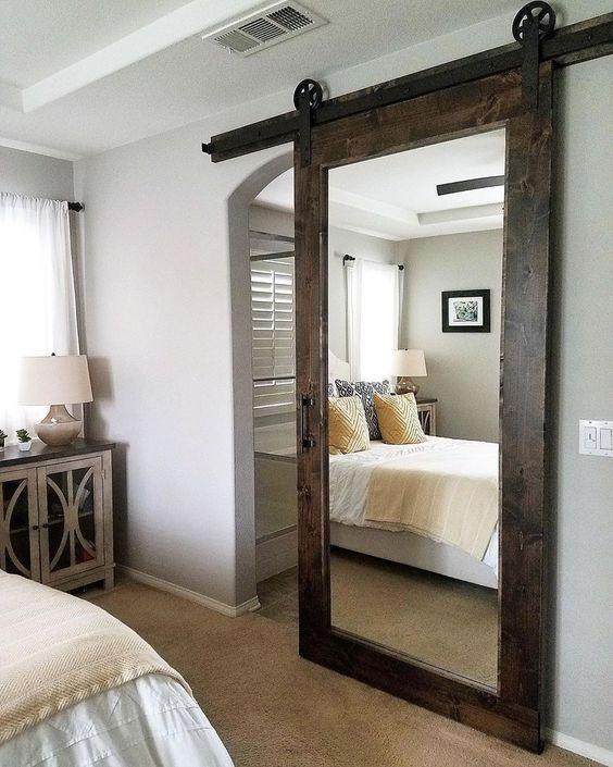 25 Amazing Barn Door Ideas In 2021 Remodel Bedroom Master Bedroom Remodel Master Bedroom Bathroom