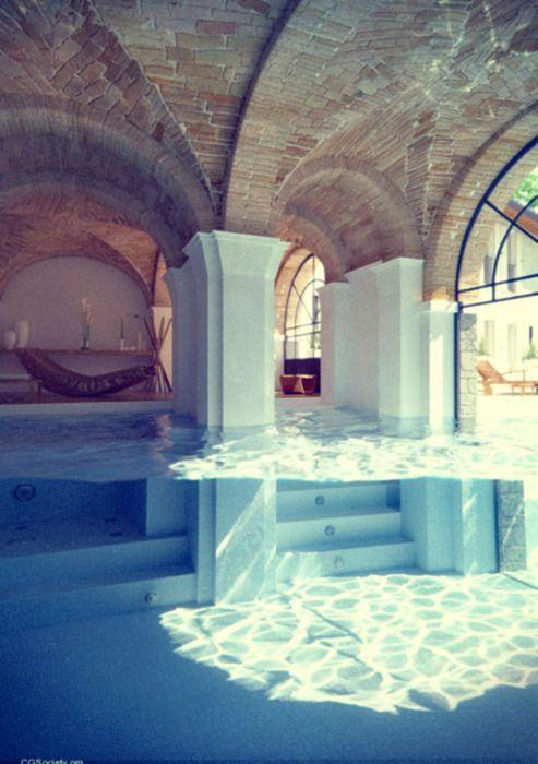 Future swimming pool? Yes?