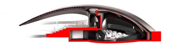 Porsche Pavilion by HENN Architects