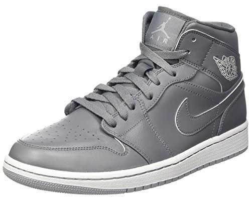 Nike Air Jordan Mens 1 Mi Chaussures De Basket-ball Synthétique véritable jeu mode rabais style sneakernews bon marché UByWyZTR6c