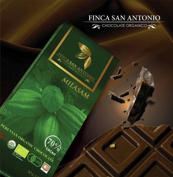 MILASAM. (Milagro San Martin). Dedicado a todos aquellos productores que antes sembraron la hoja de coca y ahora son los mejores productores del cacao mas  fino del mundo. #chocolateperuano #organico #fairtrade