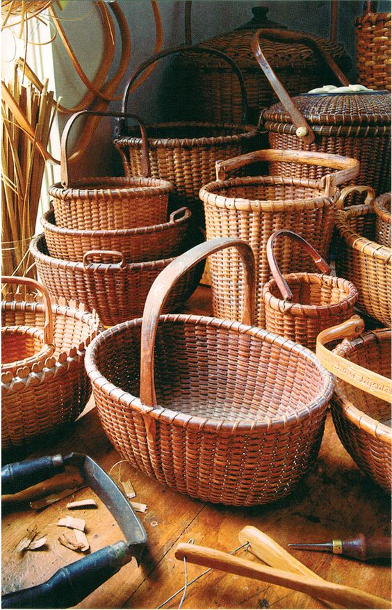 Handmade Nantucket Basket : Hand made nantucket baskets that trumps those expensive