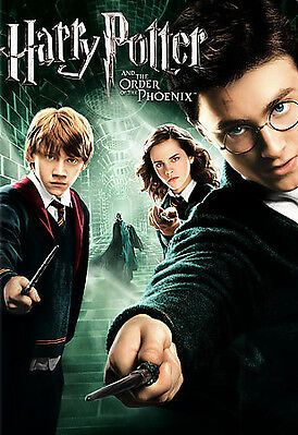 Harry Potter And The Order Of The Phoenix Dvd 2007 Full Frame Just The Disk Ebay In 2020 Harry Potter Movie Posters Harry Potter Poster Harry Potter Order