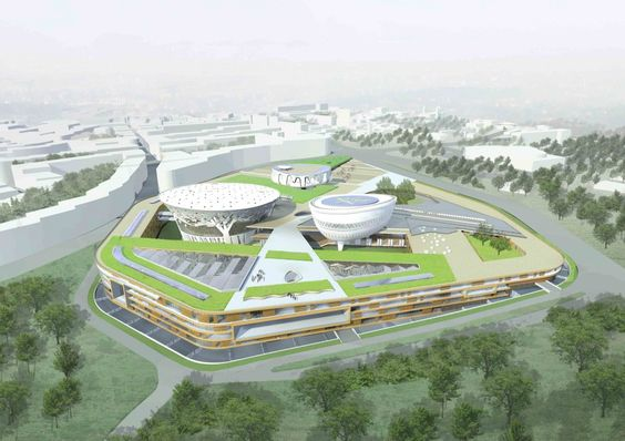 New Ethiopian Parliament Building Complex Winning Proposal / Treurniet Architectuur + Michiel Clercx Architectuur + Addis Mebratu & S7 Architects PLC