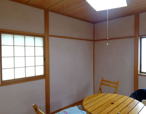 2部屋続きの和室を「四国化成・珪藻リフォーム」で塗り替え★