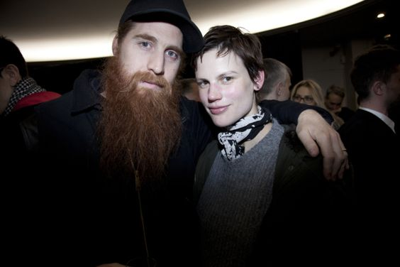 Kris Van Assche Saskia de Brauw Attend Willy Vanderperres Film Screening