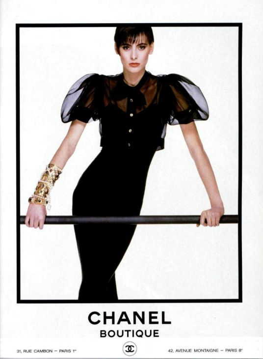 Ines in Chanel 1987