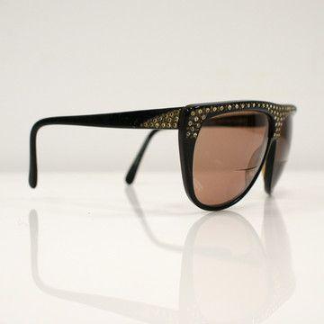 Fab.com | '80s Rhinestone Sunglasses