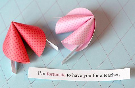 fortune cookie valentines