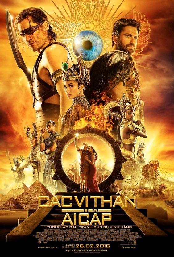 Phim Các Vị Thần Ai Cập