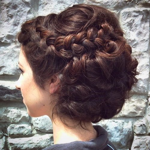 40 Most Delightful Prom Updos For Long Hair In 2020 Thick Hair Styles Prom Hairstyles For Long Hair Long Hair Updo