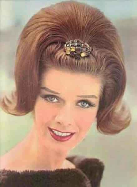 1962 hair  ooo how i remember this hairdo...good thing hairspray was cheap then..lol