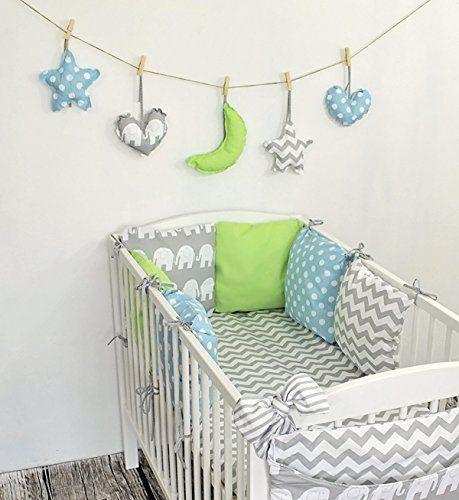 Baby Nestchen Bettumrandung 210 cm Design21 Bettnestchen Kantenschutz Kopfschutz für Babybett Bettausstattung zieba http://www.amazon.de/dp/B00ML8KDVK/ref=cm_sw_r_pi_dp_dJ2qub1F5GKKS
