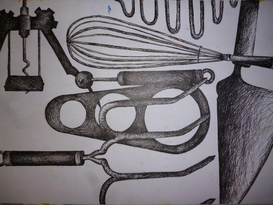 Sketch Of Kitchen Utensils : sketch kitchen bureau sketch and more kitchen utensils sketches ...