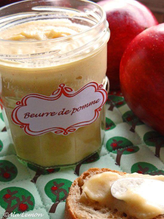 Ala Lemon - Canada : Beurre de pomme