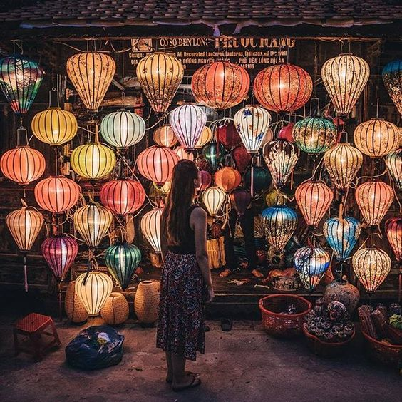 "Hoi An, Vietnam @adambrazier ''Watching all of the lanterns come to life as it gets dark in Hoi An is magical!"" - Contribute on Facebook.com/backpackerstory for a FEATURE"