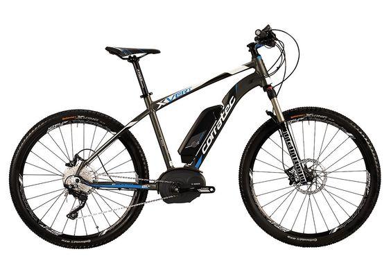 E-Bike, 27,5 Zoll, 10 Gang SHIMANO XT, »E-Power X-Vert 650B Performance«, Corratec.  Lieferbar in 3 Rahmenhöhen  Das perfekte E-Bike von corratec für anspruchsvolle Fahrer jeden Alters. Dank des einzigartigen, dreifach verstärkten Fusion Unterrohres ist der Rahmen extra stabil für den kraftvollen Motor und ermöglicht einen tiefen Einstieg sowie ein sicheres Fahrgefühl. Das E-Bike ist zudem auf ...