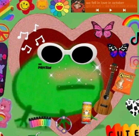 Ranita Del Alt Tiktok Frog Meme Amazing Frog Frog
