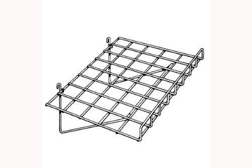"15"" x 24"" Gridwall Straight Shelf With Lip Black - Works With Grid Panels by The Competitive Store- DirectSales10. $11.93. Straight Shelf with Lip. 1 Piece. Work with all standard griwall panels. Measures 15"" x 24"", 90 degree angle. Black Color. This auction is for a black straight shelf with lip for gridwall panels. Size: 15"" x 24"", 90 degree angle. Also available in white or chrome"