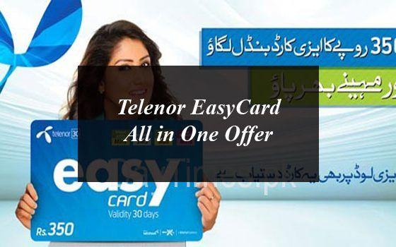 Telenor Easycard All In One Offer Offer Mobile Phone Price Informative