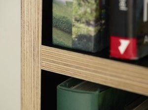 Bücherregal Detail 02