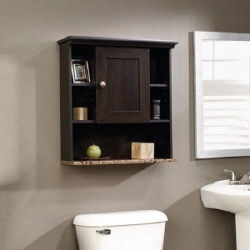 Wall Vanity Storage Organizer Bathroom Shelf Cubby Medicine