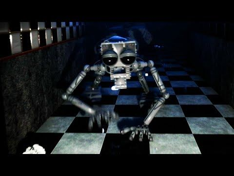 The Animatronic Endoskeleton Comes To Life And Chases Me Five