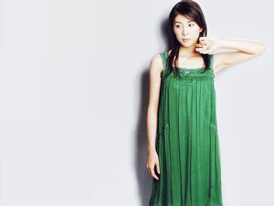 竹内結子のグリーン