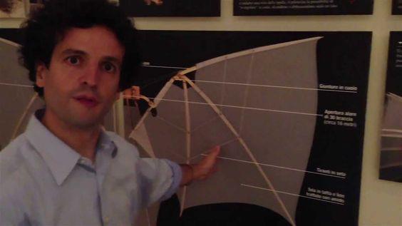 """Edoardo Zanon, di Leonardo3, curatore della mostra """"Il mondo di Leonardo"""" a Milano, racconta il sogno impossibile di Leonardo: volare con 400 anni di anticipo sui fratelli Wright.   http://www.leonardoamilano.com"""