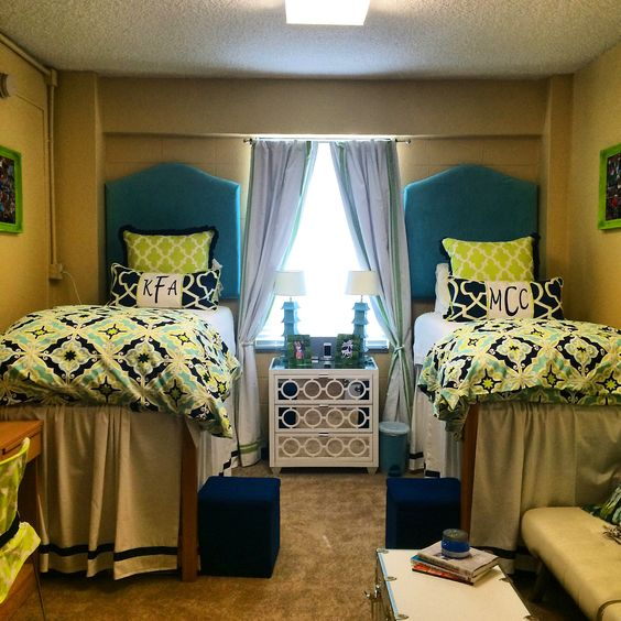 Decorating Ideas > Initials, Cute Dorm Rooms And Happy On Pinterest ~ 003811_Green Dorm Room Ideas