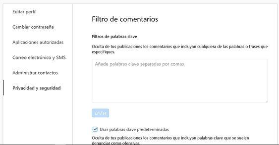 Configurar Instagram