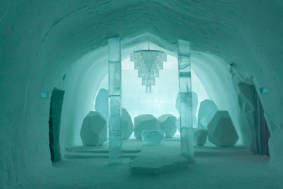 Ice princess room in Sweden. Which Disney Princess is your lifestyle twin?