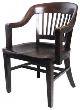 oak office chair eclectic chairs art deco office chair