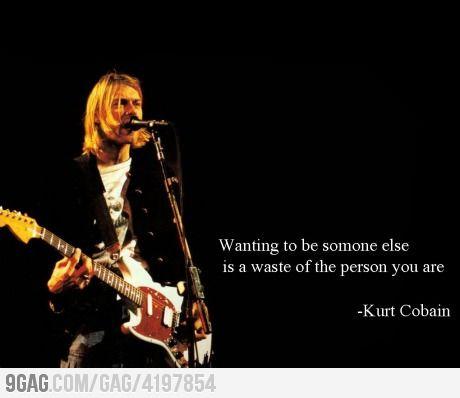 Just Kurt Cobain Being Amazing!
