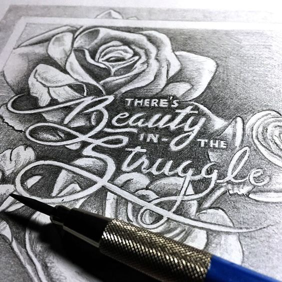 There's Beauty in the Struggle by perspective_collective